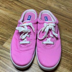 Keds Moxie Slide on Sneaker in Hot Pink 8